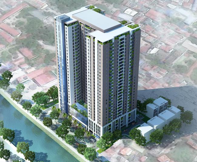 Dự án: Khu nhà ở để bán kết hợp văn phòng và dịch vụ Riverside Garden